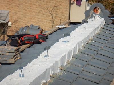 屋根用モルタル